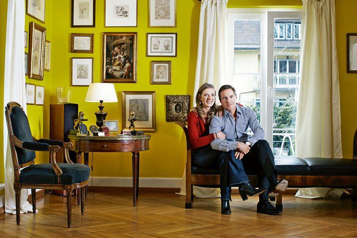Bienvenue chez Cyril et Corinne Koller. © Vera Hartmann