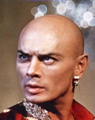 "The first film that Yul Brynner got notice for was the cinematic version of the stage hit of which Yul Brynner had played the starring role in on Broadway, ""The King and I""."