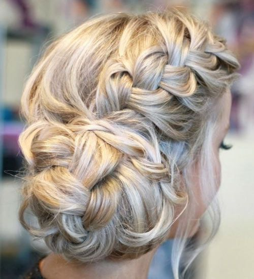 25 best ideas about braided side buns on pinterest side