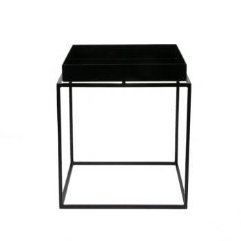 Tarjotinpöytä pieni, musta