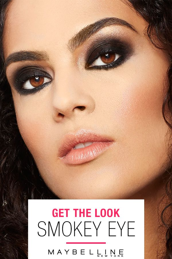 This sexy, smudgy eye look screams that tonight you're headed somewhere we want to be. Jump on the Smokey Eye trend with the Lasting Drama Gel Pencil from Maybelline. Get the look at Maybelline.com.