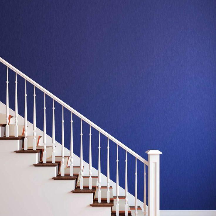 white stair railings - Google Search