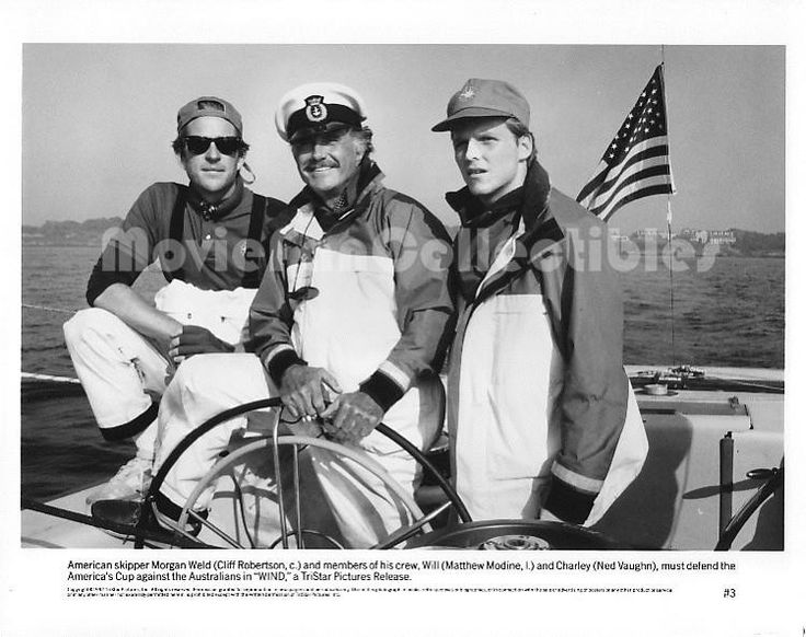 Wind movie still photo star Matthew Modine Ned Vaughn Cliff Robertson