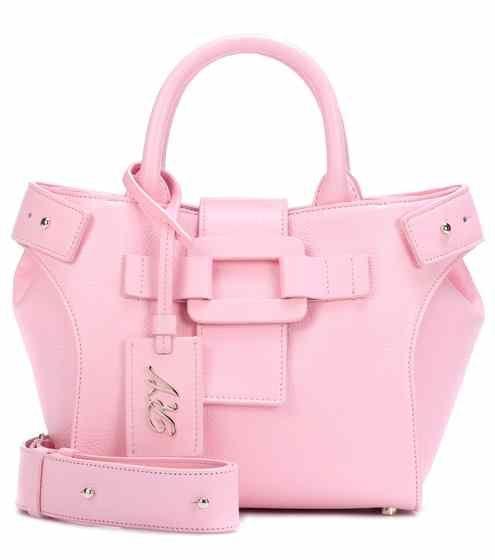 0384309b1d Pilgrim De Jour Mini leather shoulder bag
