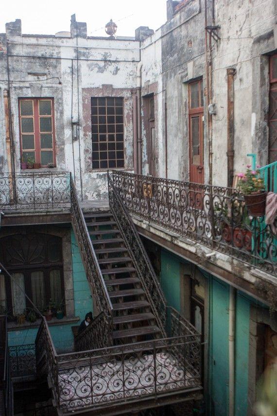 Vecindad cerca de La Merced que pronto será demolida (Foto de Francisco Canedo)
