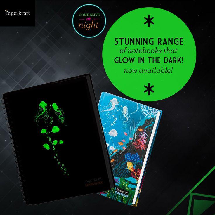 #notebooks #stationary #glow #ownthenight #books