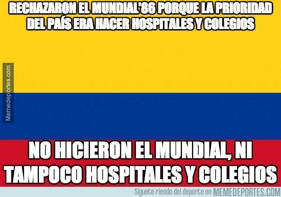 333311 - Colombia no quiso ser como Brasil2014