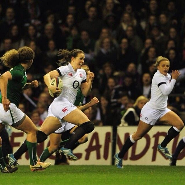 Emily Scarratt World Cup heroine
