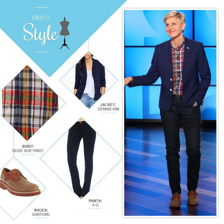 Ellen DeGeneres Style, Fashion & Looks - StyleBistro 89