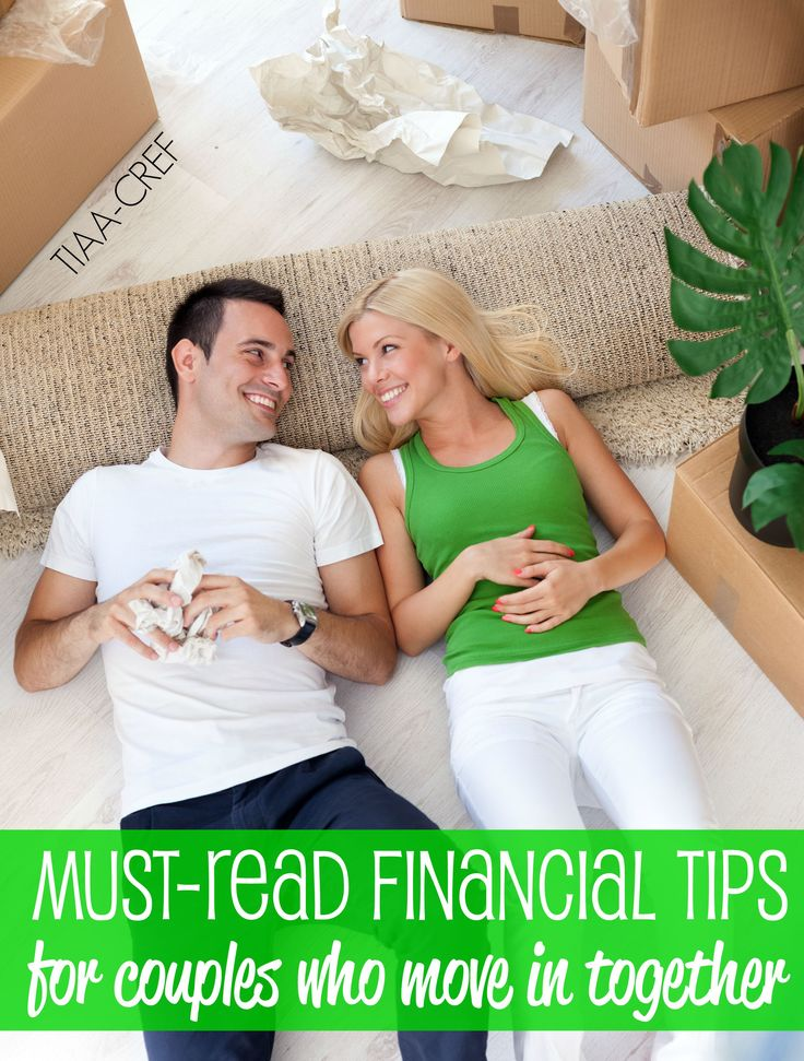 Must-read financial tips for couples who move in together. Agree on how to split the bills and more.