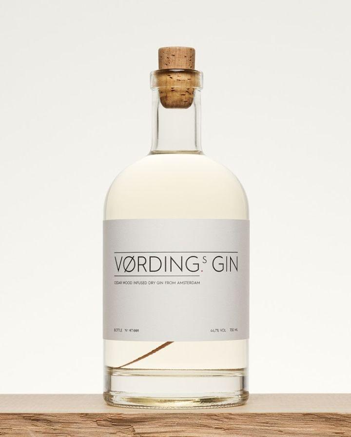 Vørding's Gin packaging by Studio Vørding » Retail Design Blog