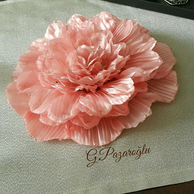 Nışan Alyans Yastığı Çiçeği Hazırlığı