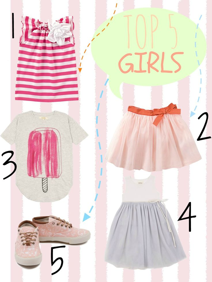 Top 5 for girls - Ma come lo vesto?