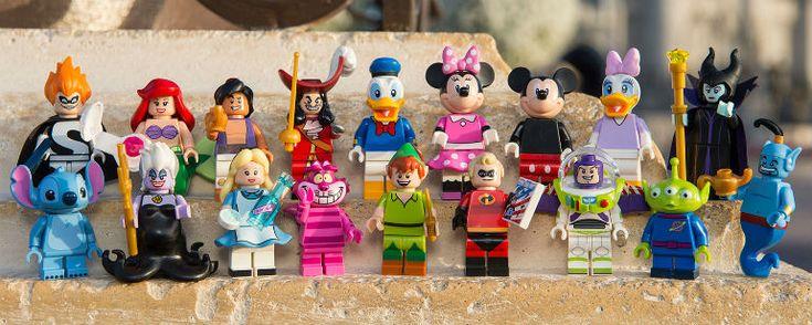Personagens da Disney ganham versão LEGO! - Notícias de cinema - AdoroCinema