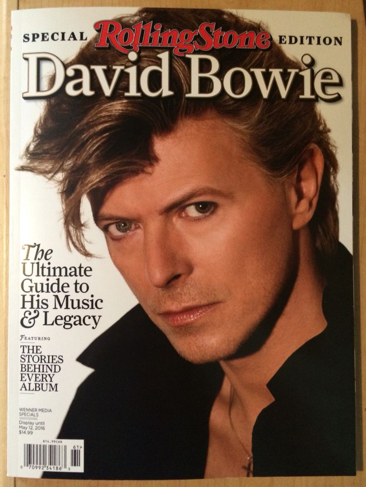 Rolling Stone Special David Bowie Tribute Issue.