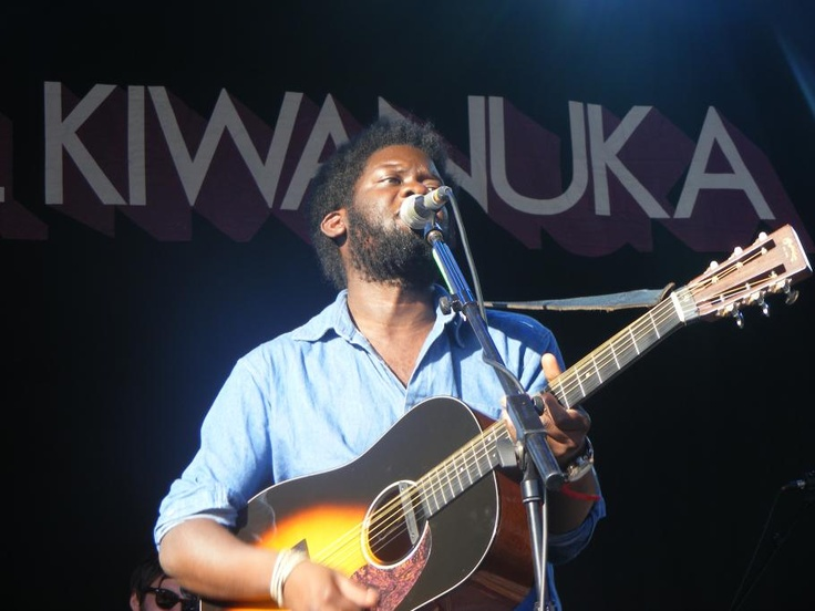 GREEN MAN 2012 - MICHAEL KIWANUKA (WILLOW COLIOS)