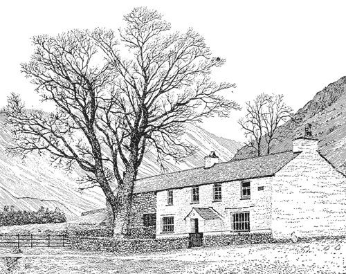 Middlefell Farm, Great Langdale - A Wainwright