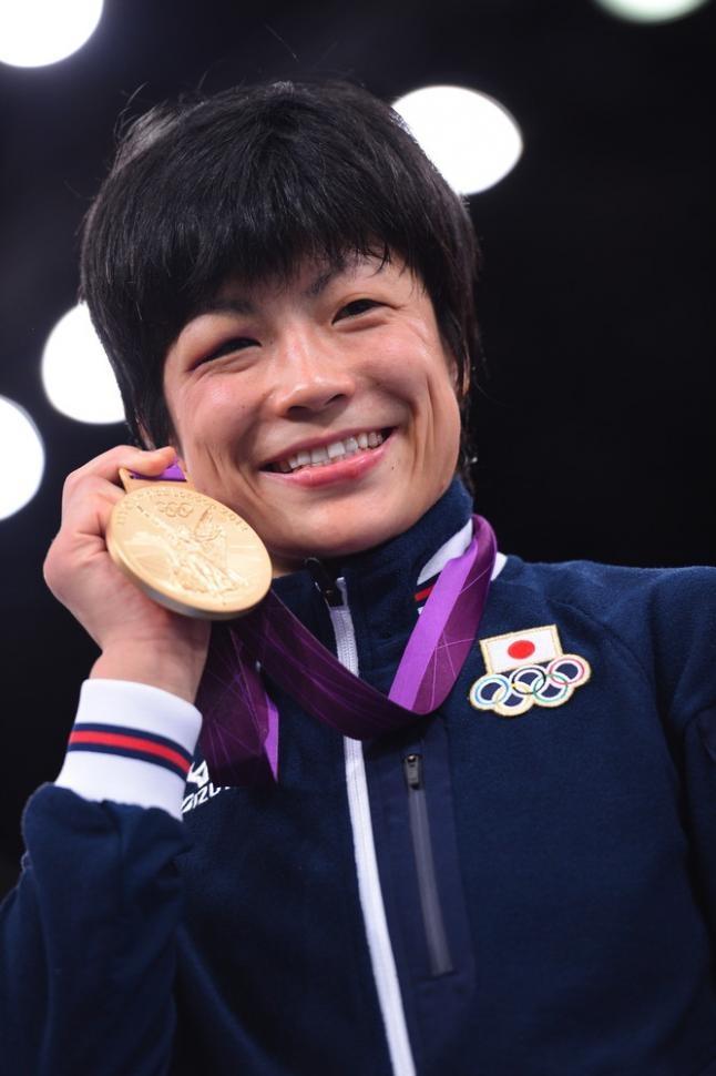 レスリング・フリースタイル女子48kg級表彰式