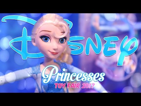 Unbox Daily: Toy Fair 2017 - Hasbro ALL NEW Disney Princesses - Review - 4K - YouTube