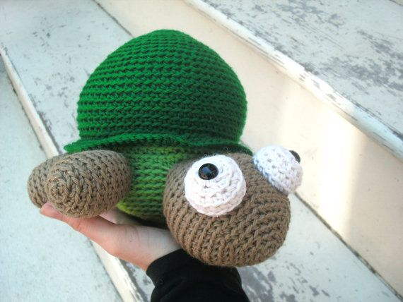 Crochet Patterns Turtle : Amigurumi Crochet PATTERN: Amigurumi Turtle -pdf-