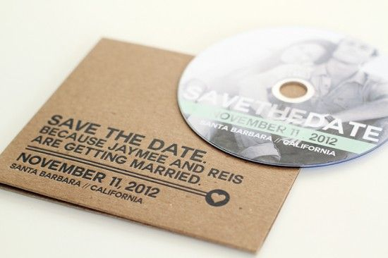 Creative Save the Dates by Jay Adores Design Co. via Oh So Beautiful Paper (3)