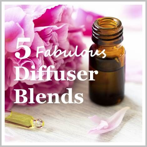 5 fabulous aromatherapy diffuser blends