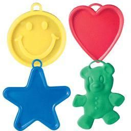 Primary Plastic Balloon Weights (100ct)