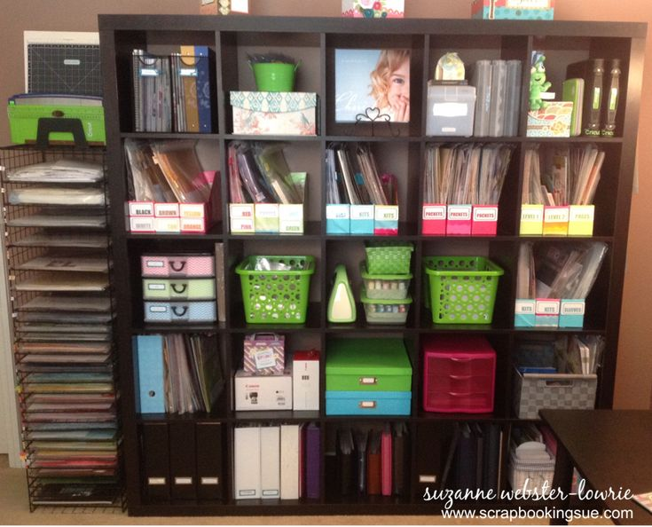 Many Container Ideas For IKEA Expedit And Kallax Storage Units