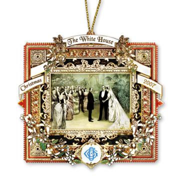 <p>The 2007 White House Christmas ornament honors the first administration of President Grover Cleveland. The only U.S. president to serve two non-consecutive terms, Cleveland served as the 22nd president from 1885 to 1889 and as the 24th president from 1893 to 1897. Cleveland was also the only president to marry in the White ...