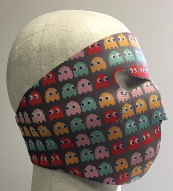 Pacman Ghost Face Mask