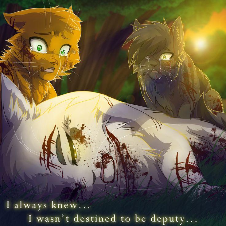 Warrior Cats Dead: Whitestorm's Death By RiverSpirit456.deviantart.com On