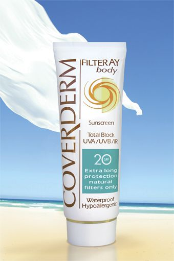 Coverderm Filteray Body SPF20/40