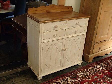 Drexel studio pine cabinet