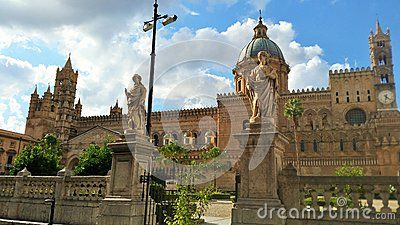 The marvelous Norman Cathedral in Palermo
