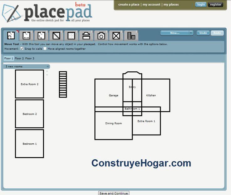 17 mejores ideas sobre hacer planos de casas en pinterest - Programas para disenar casas gratis ...