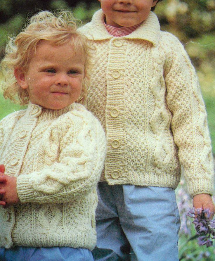 Aran Childrens Knitting Patterns : Pin by Tiger Tail on Aron knitting Pinterest
