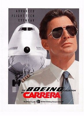 Sole Advertising Da Carrera Boeing Vintage Occhiali ZnwON80XPk