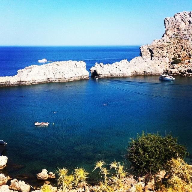 Lindos, Rhodes #greece
