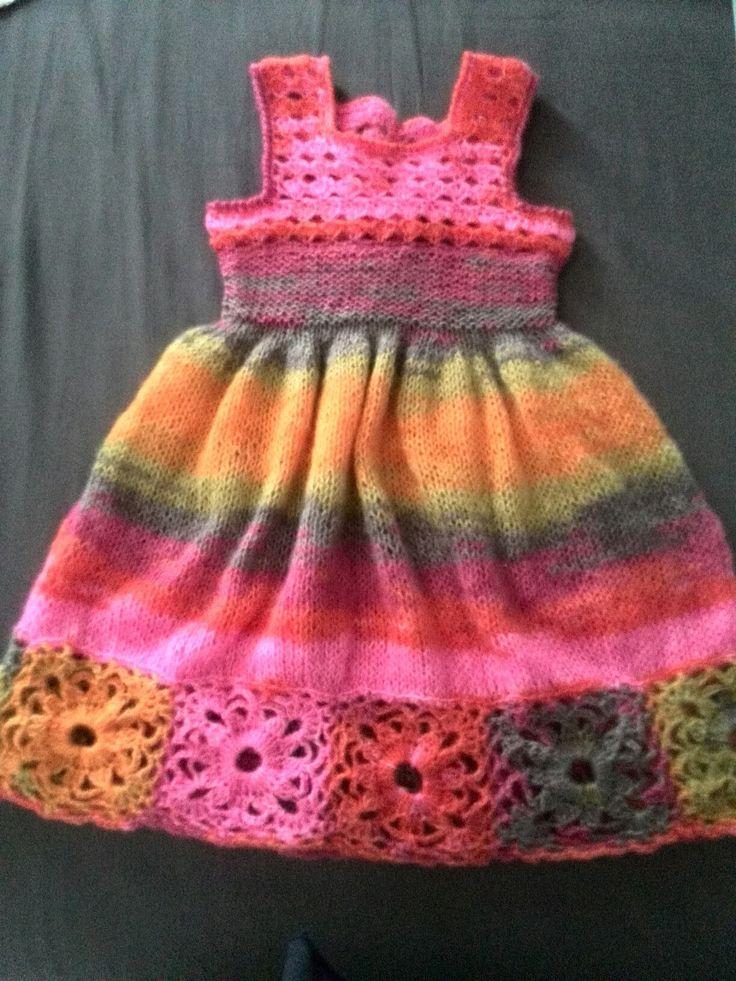abitino in lana multicolor