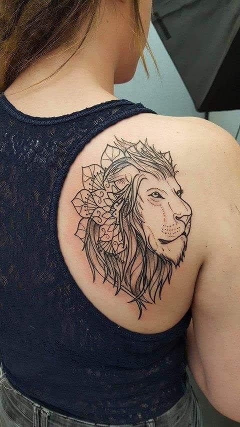 Placement of lion