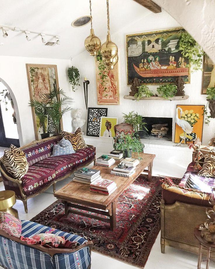 Incredible 16 Bohemian Interior Design Ideas Bohemian Interior Design Beutiful Home Inspiration Aditmahrainfo