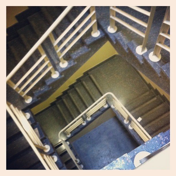 Bond University Law Library Staircase - Instagram