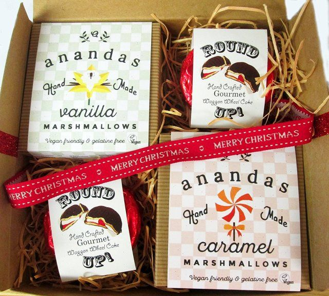 Vegan | Dairy Free Good news, dairy free friends! Ananda's Round Ups are a vegan Wagon Wheel equivalent. Available in Original, Mint, Orange or Honeycomb... yum!