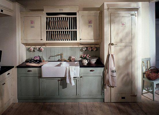 die 25+ besten englische haus küchen ideen auf pinterest ... - Küche Englischer Landhausstil