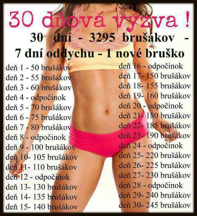 30 ti denni vyzva na bricho