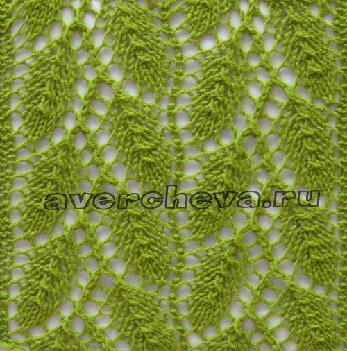 Elm Leaf Knitting Pattern : 1000+ images about ????? ??????? on Pinterest Cable, Stitches and Ravelry