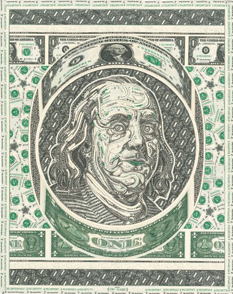 Hungry4moreLA » Mark Wagner's Currency Portraits