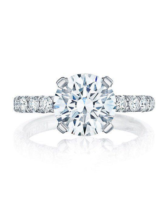 HT 2545 25 RD 9 Tacori Engagement RingsPlatinum RingsRing SizesDiamond