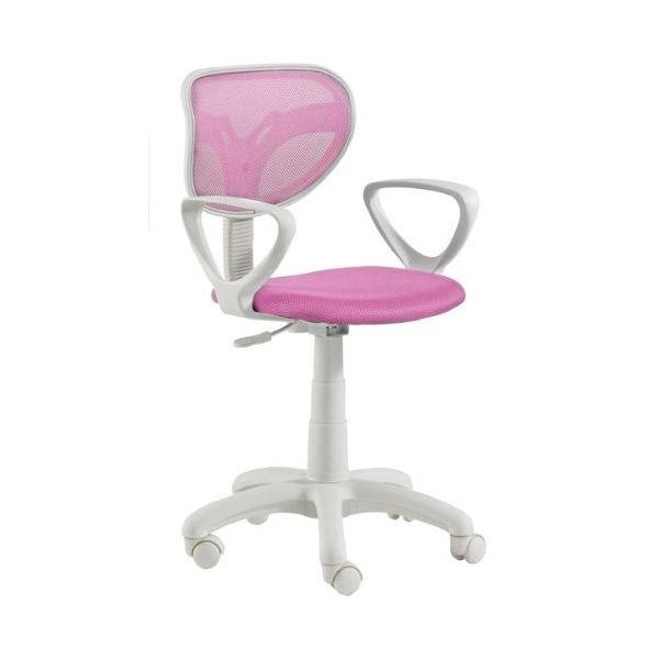 Sillas blancas baratas silla giratoria gas con brazos for Sillas blancas baratas