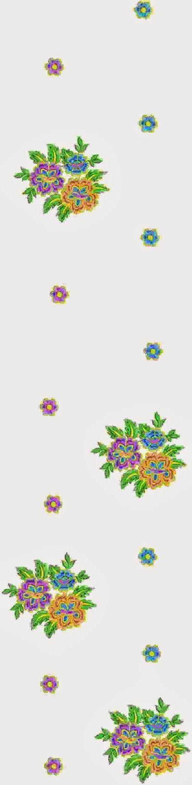 kleurvolle Gota-Patti ontwerp multi Sari